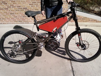 Diy electric bikes for How to make an electric bike with a starter motor
