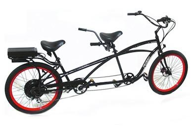 electric tandem two seater bike. Black Bedroom Furniture Sets. Home Design Ideas