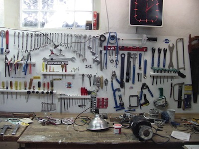 My Electric Bicycle Workshop