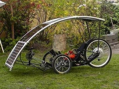 Electric Recumbent Bike